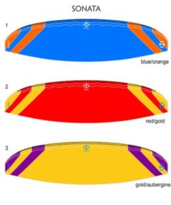 phi sonata colours